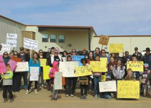 "Falher's ""Smoky River Women's March"" held on April 8"