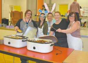 PIC – The sausage and pancake breakfast is on Ecole Routhier