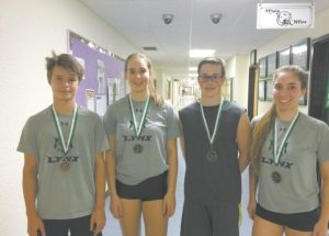 PIC – Badminton players win medals
