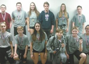 Ecole Heritage junior badminton players win medals in Grimshaw, Valleyview