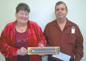 Photos of Seniors Fun Day crib tournament winners in McLennan