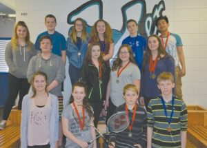 GPV junior badminton team brings home divisional plaque, senior team does well at zones