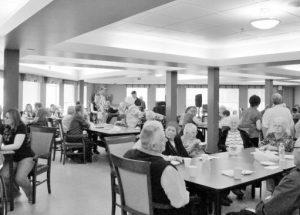 Nursing Home Ladies Auxiliary Springtime Strawberry Tea at Manoir du Lac