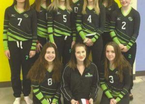 Peace River Volleyball Club places fifth in provincials
