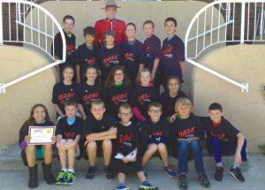 PIC – Grade 5 & 6 students at Ecole Heritage graduate DARE