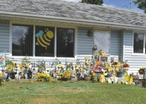 PIC – Buzz! Buzz! Falher resident gets into the spirit of the Honey Festival