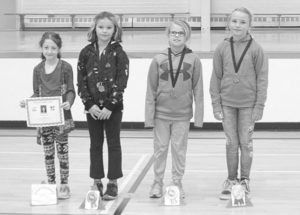 Routhier School track and field awards presentation