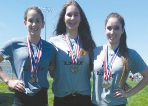 PICs – Medal wins for Ecole Heritage athletes