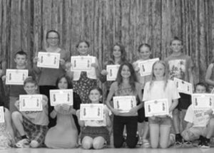 Routhier School Grade 6 Students given warm send off at June 29 graduation ceremony