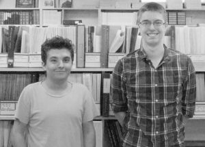 Summer staff and volunteers at  Genealogical Society find it an ideal environment for history buffs