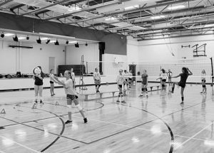 Annual Falher volleyball camp proves extremely popular with kids in the region