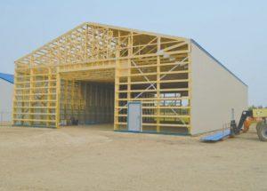 New SARDA storage building almost complete
