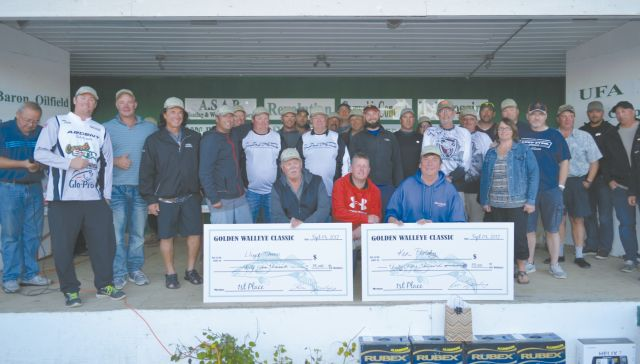 29th annual Golden Walleye Classic held at Shaw's Point Resort, 65 teams participate