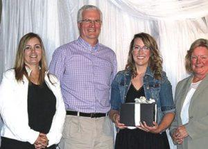 Peerless Lake teacher receives Edwin Parr Award