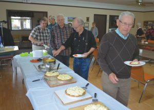 Seniors enjoy lunch, brain teasers at Conversation Corner in Donnelly