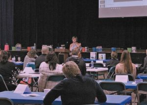 Tri-Divisional Orientation attended by over forty new teachers to the region