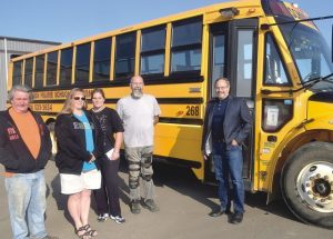 Be aware of school buses as students are back in class