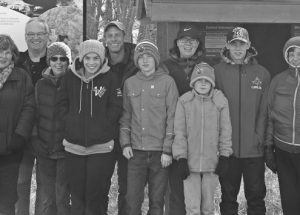 O'Mahony Conservation Area annual community hike took place a little later this year, on the Thanksgiving Sunday