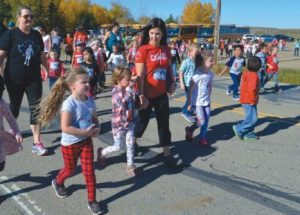 PICs – Terry Fox Run in Jean Cote