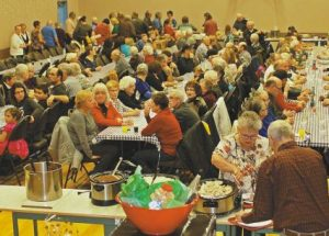 Guy Parish Bazaar annual turkey and tourtière supper draws support from throughout the region