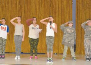 First Nations veterans and others honoured at Ecole Routhier's Remembrance Day service