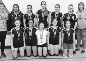 PIC – Heritage junior girls bring home the silver medal