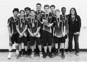 GPV junior boys' volleyball team brings home gold medal