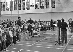 Ecole Heritage Remembrance Day Ceremony, November 10