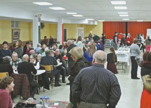St. John the Baptist Parish annual turkey and tourtière supper held on December 3