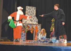 GPV bands entertain with Christmas concert and play
