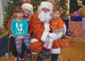 Santa Day held at the  Elks & Royal Purple Hall in McLennan