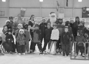 PIC – Ho! Ho! Ho! Santa Skate Day at the Guy/Donnelly Sportex