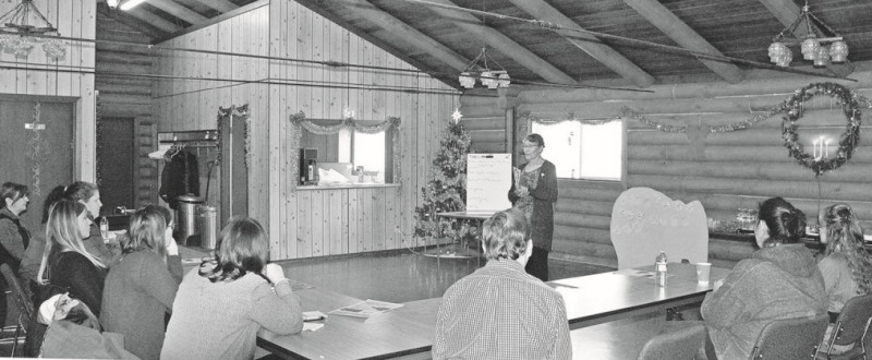 'Elephant in the Room'  campaign continues at Cabin in Falher