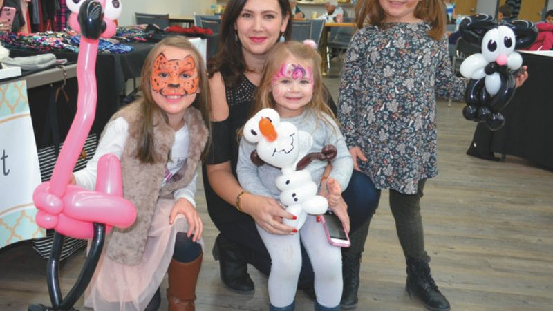 Lots of merchants and over 1,000 people attend the annual Falher Christmas Expo & Santa Day