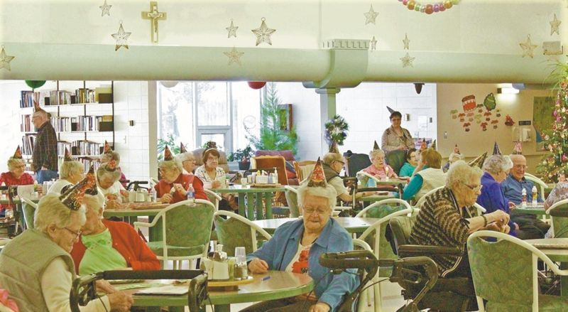 Having had to cancel the last two years, Villa residents are happy to hold their 2018 New Year's Party