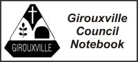 Village of Girouxville Council Notebook – November 7, 2018