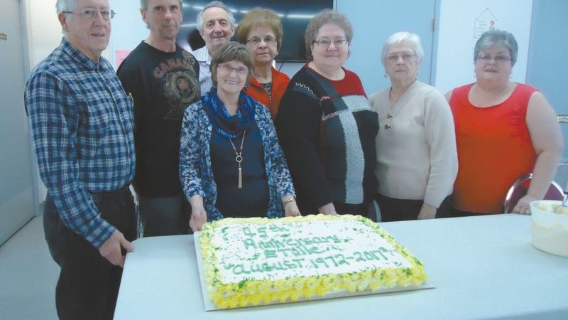 Club Etoile in Girouxville celebrates its 45th anniversary with an open house