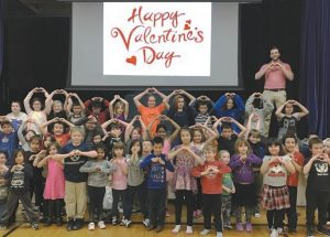 Ecole Providence students spend two days celebrating Valentine's Day and Ash Wednesday