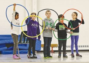 Routhier School celebrates its winter fun day with an Olympic theme