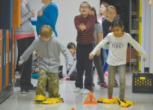 Winter Olympics come to Ecole Routhier School