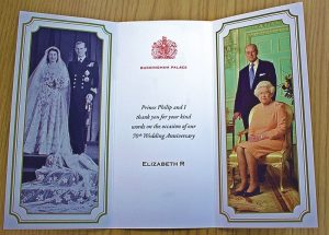 Volunteer receives reply from Buckingham Palace