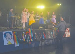 Singing and artworks highlight Gala du Nord at Centre Chevaliers