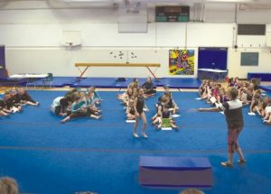 Smoky River Gymnastics Club hosts achievement day with other clubs