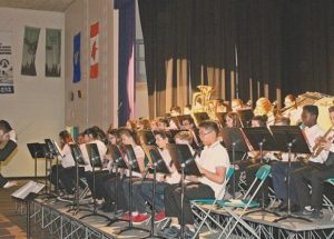 G.P. Vanier strikes up the band for its 15th annual fundraiser event