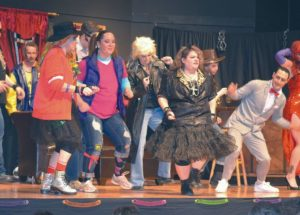 LAHF Troupe makes the 80's come back into fashion!!