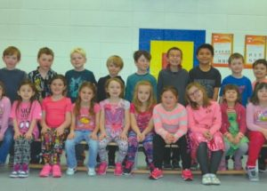 PIC – Pink Shirt Day at Ecole Routhier