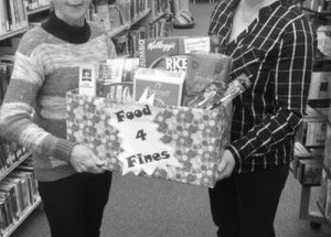 PIC – McLennan Library Food 4 Fines