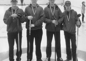 GPV senior boys' curling team advances to provincials