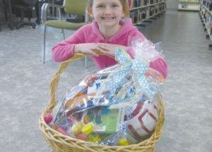 PIC – We have our Easter basket winner!!