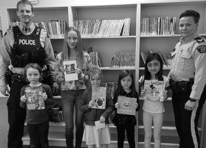 Routhier's book fair winners